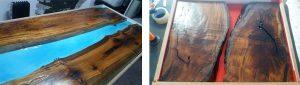 قرار دادن چوب درون قالب
