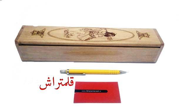 قلمدان خوشنویسی طرح مینیاتور چوبی اعلا (5)