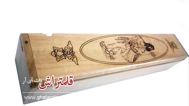 قلمدان خوشنویسی طرح مینیاتور چوبی اعلا (6)