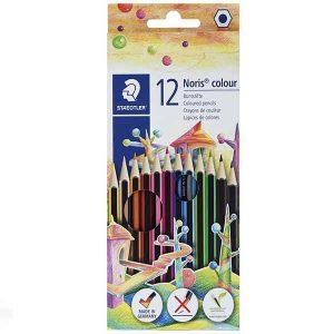مداد رنگی ۱۲رنگ استدلر مدل Noris Colour 185 C12