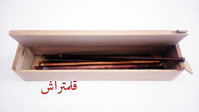نمونه جعبه قلمدان چوبی (2)