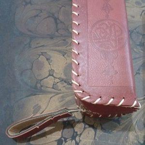 کیف چرمی خوشنویسی مصنوعی