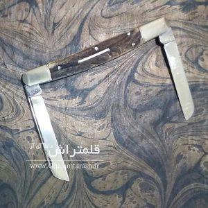 خرید چاقوی قلمتراش دوتیغه ، ساخت استاد جلیل توسلی - زنجان