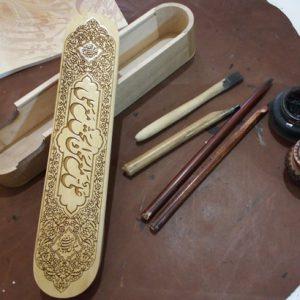 جاقلمی چوبی تزیینی