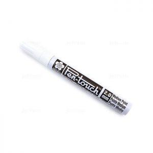 ماژیک سفید ساکورا  sakura white pen touch