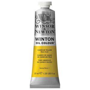 رنگ روغن وینزور مدل winton کد رنگ ۱۱۹ CAmium Yellowحجم۳۷ میل