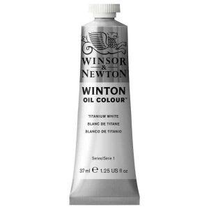 رنگ روغن وینزور مدل winton کد رنگ ۶۴۴ Titanium whiteحجم۳۷ میل