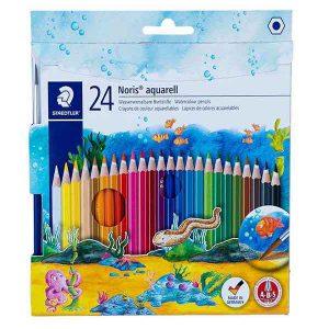 مداد آبرنگی ۲۴ رنگ استدلر مدل نوریس کلاب ۱۴۴
