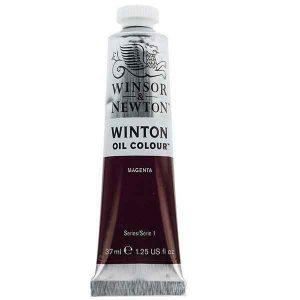 رنگ روغن وینزور مدل winton کد رنگ ۳۸۰ magentaحجم۳۷ میل