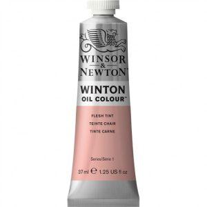 رنگ روغن وینزور مدل winton کد رنگ Flesh Tint حجم۳۷ میل