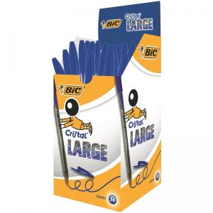 خودکار بیک لارج آبی ۱٫۶ مخصوص خوشنویسی Bic large1.6