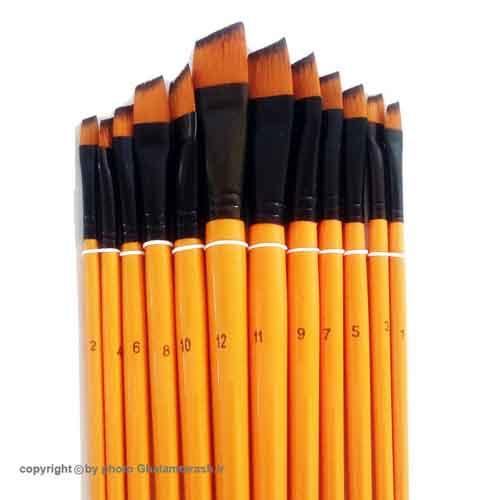 ست قلمو سر کج