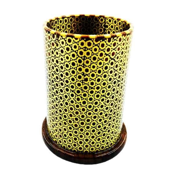 قلمدان رومیزی خاتم طلایی