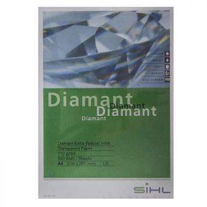 کاغذ کالک سیل مدل دیاموند سایز A3 بسته ۱۰ الی ۱۰۰ برگی